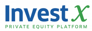 This is the official Invest X logo.