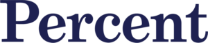 The official Percent logo.