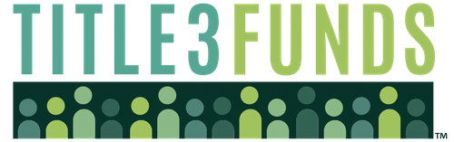 This is the official Title 3 Funds logo.